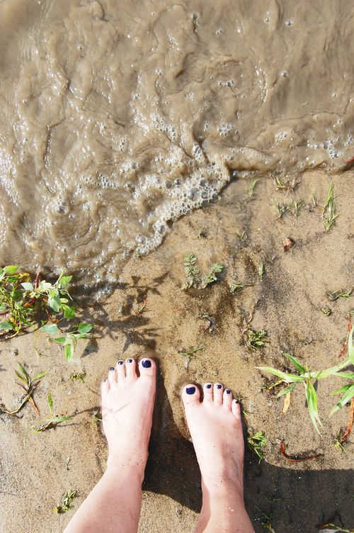 River toes